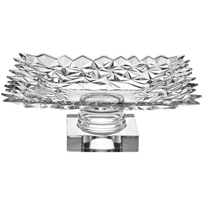 KDGifts Glacier Design Crystal Footed Bowl