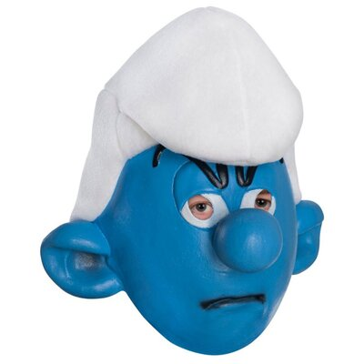 Rubies The Smurfs Grouchy Child Mask
