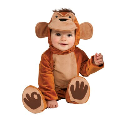 Cuddly Jungle Funky Monkey Costume