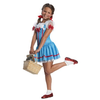 Rubies Wizard of Oz Red Sequin Bow Dorothy Child Costume