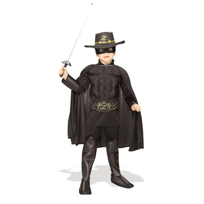 Rubies Deluxe Zorro Child Costume