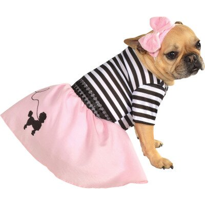 Fifties Girl Dog Costume
