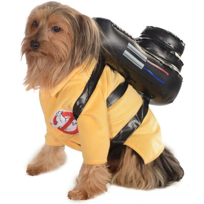 Rubies Ghostbuster Jumpsuit Dog Costume