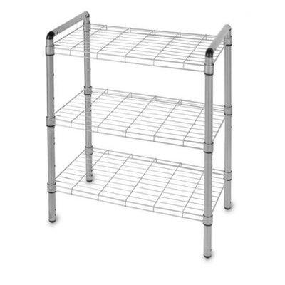 "Delta Design Art of Storage Quick Rack 30"" H 3 Shelf Shelving Unit"