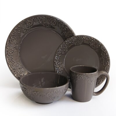 Ambrosia 16 Piece Dinnerware Set