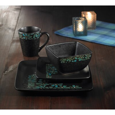 Jasmine 16 Piece Dinnerware Set