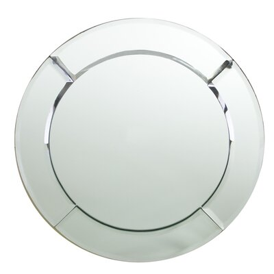 ChargeIt! by Jay Mirror Round Charger Plate (Set of 2)