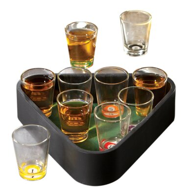 Crystal Clear Game Night Barware Collection