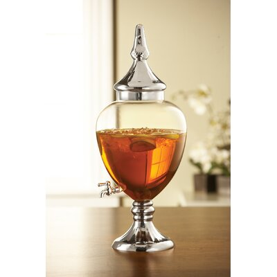 304 Oz Glass Beverage Dispenser