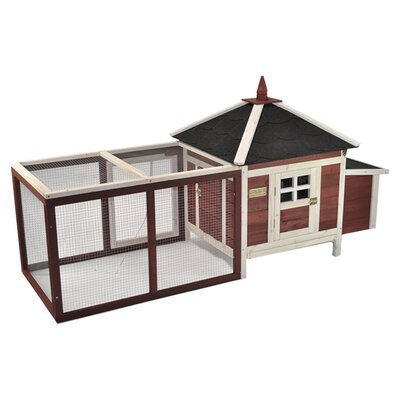 <strong>Advantek</strong> The Prairie Home Poultry Chicken Coop with Removable Roof