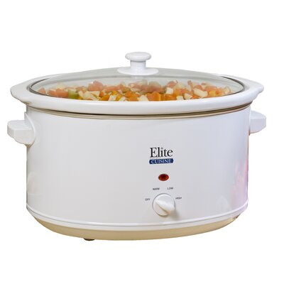 Maximatic 8.5-Quart Stainless Steel Slow Cooker