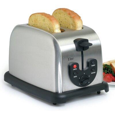 Elite Platinum 2-Slice Electronic Toaster