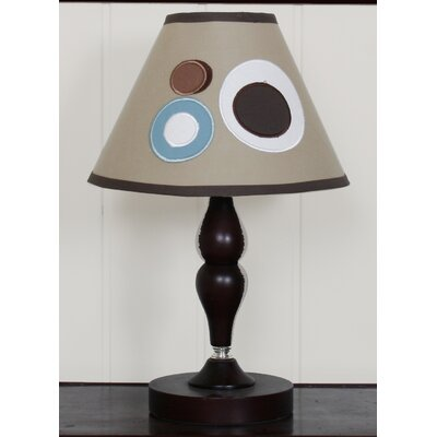 Geenny Lamp Shade - Scribble Blue / Brown