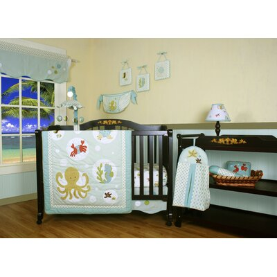 Boutique Sea World Animal 12 Piece Crib Bedding Set