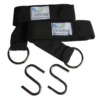 Vivere Hammocks Eco-Friendly Hammock Tree Strap (Set of 2)