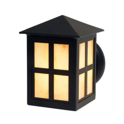 Steel Partners Old Faithful 1 Light Outdoor Wall Lantern