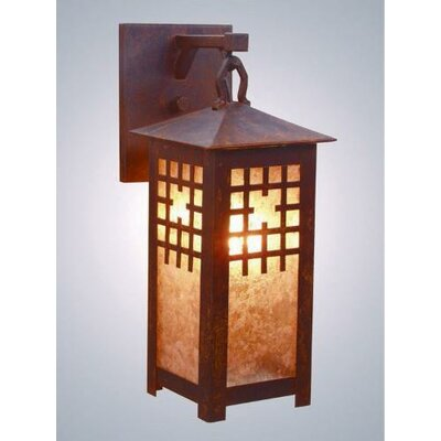 Steel Partners San Marcos 1 Light Outdoor Hanging Wall Lantern