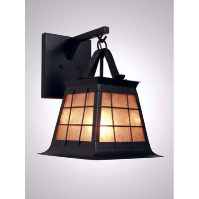 Steel Partners Top Ridge Hanging 1 Light Wall Sconce