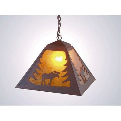 Steel Partners Moose 1 Light Swag Pendant