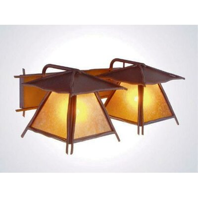 Steel Partners Bundle of Sticks Twin Prairie Vanity Light Wall Sconce