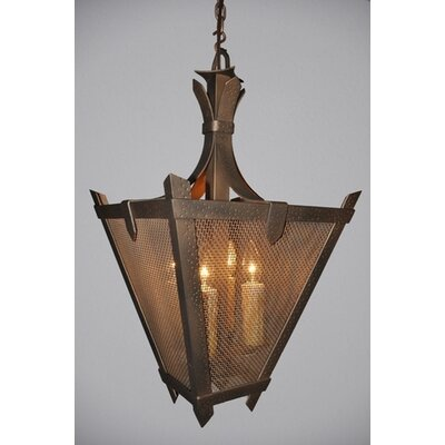 Steel Partners Tuscany Mesh 1 Light Hanging Lantern