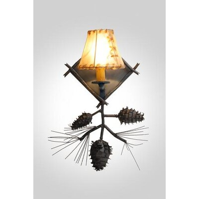 Steel Partners Ponderosa Pine 1 Light Wall Sconce