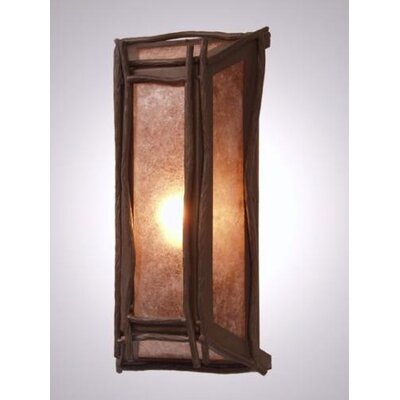 Steel Partners Sticks 1 Light Wall Sconce