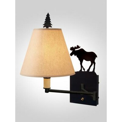 Steel Partners Moose Swing Arm Wall Lamp