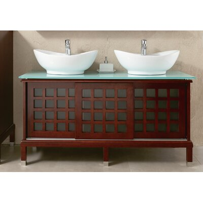 "Ove Decors Valencia 55.9"" Double Bathroom Vanity Set"