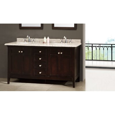 Decors Amsterdam 60quot; Double Bathroom Vanity Set amp; Reviews  Wayfair