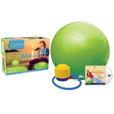 Wai Lana Phthalate-Free Exercise Ball Kit with DVD