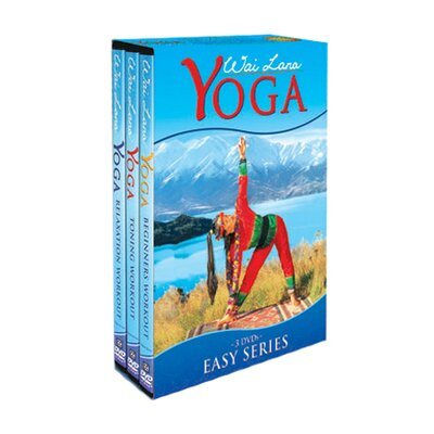 Wai Lana Yoga Easy Series DVD Tripack