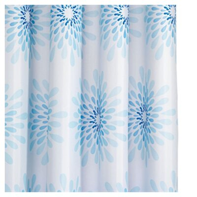 Splash Polyester Textile Shower Curtain