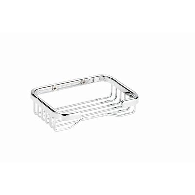 Professional Bath Chrome Soap Basket