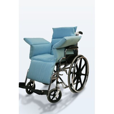 NYOrtho Wheelchair Comfort Seat in Light Blue