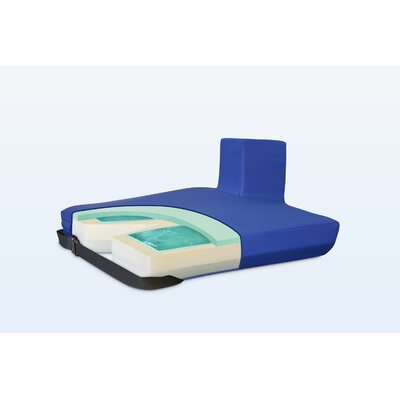 NYOrtho Apex Core Coccyx Pommel Gel-Foam Cushion in Royal Blue