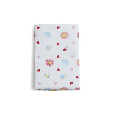 The Little Acorn Natureland Fairies Print Crib Fitted Sheet