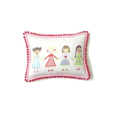 The Little Acorn Multi Girls Pillow
