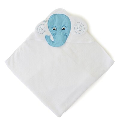 The Little Acorn Funny Friends Elephant Hooded Towel