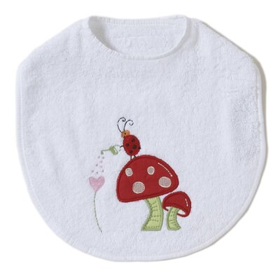 The Little Acorn Alphabet Adventure Mushroom Bib