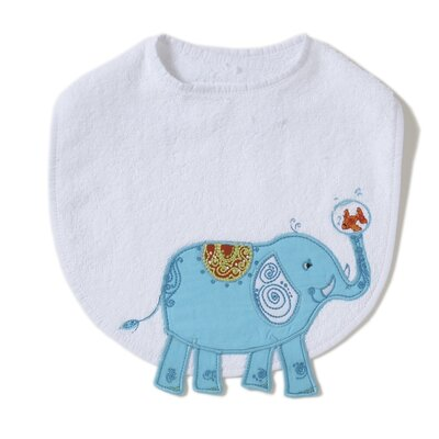 The Little Acorn Alphabet Adventure Elephant Bib