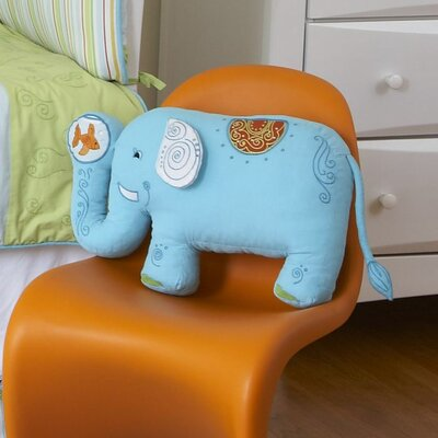 The Little Acorn Funny Friends Elephant Pillow
