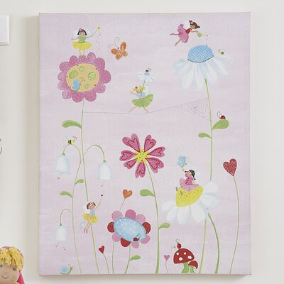 The Little Acorn Natureland Fairies Canvas Art