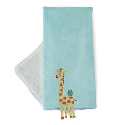 The Little Acorn Funny Friends Giraffe Blanket