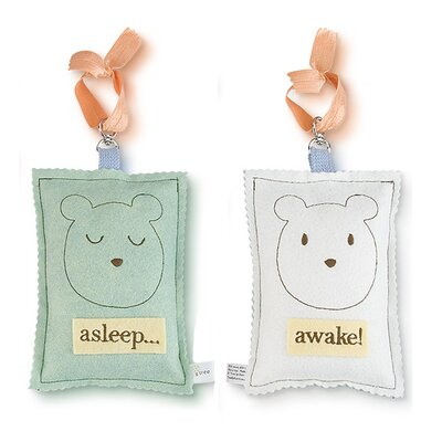 Tree by Kerri Lee Bear Asleep / Awake Door Hanger