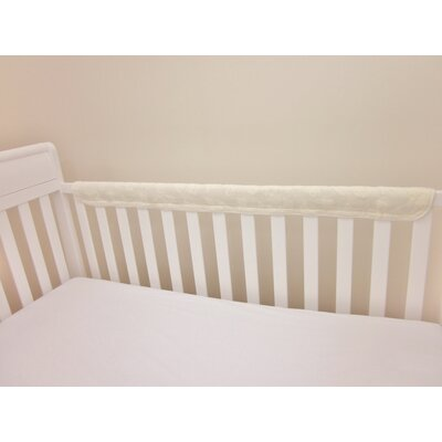 American Baby Company Terry Cotton Two Piece Crib Rail Guard
