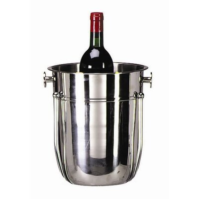 Tablecraft 8 Qt. Stainless Steel Wine Bucket in Mirror