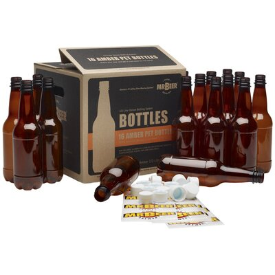 Mr. Beer 1/2 Liter Deluxe Bottling System (16 Pack)