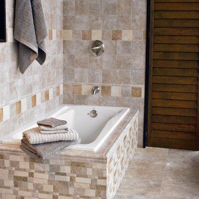 "Interceramic Montreaux 6"" x 6"" Ceramic Wall Tile in Brun"