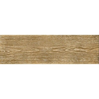 "Interceramic Woodlands 6"" x 20"" Ceramic Floor Tile in Maple"